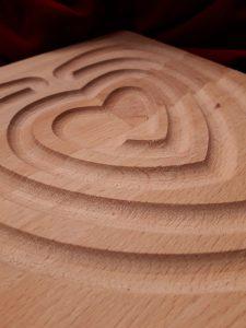 De wijsheid van het hart, Valentijns-labyrintloop @ het VlinderHuys, Amersfoort