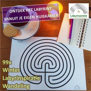 Online: 99x Winter Labyrinspiratie Wandeling @ van thuis uit!